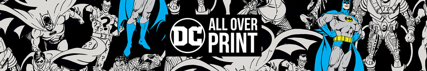 Designs for DC Comics All Over Print Collection