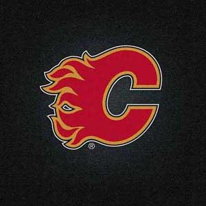 Calgary Flames Black Background