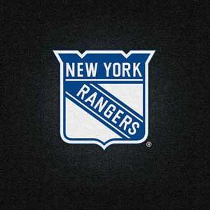 New York Rangers Black Background