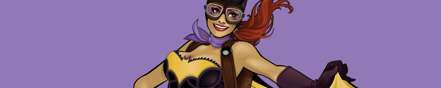 Official DC Bombshells Cases and Skins