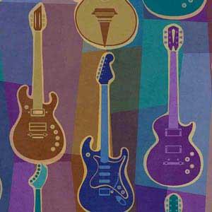 Retro Guitar Pattern