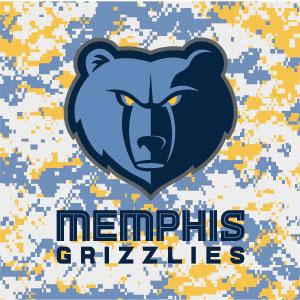 Memphis Grizzlies Digi Camo