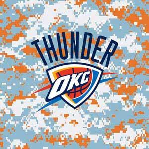 Oklahoma City Thunder Digi Camo