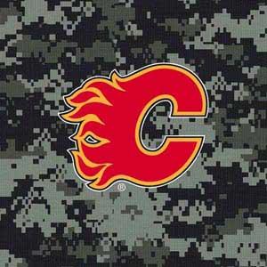 Calgary Flames Camo