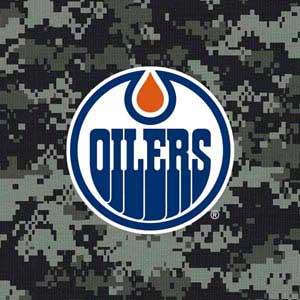 Edmonton Oilers Camo