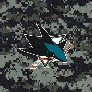 San Jose Sharks Camo