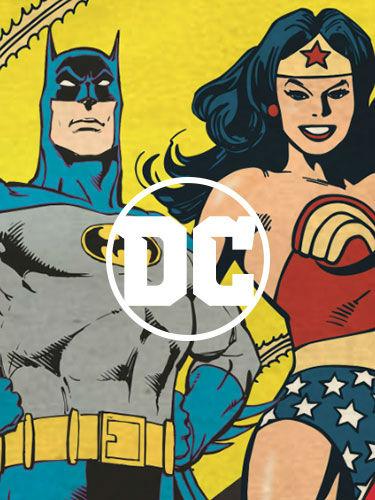 Designs for DC Comics