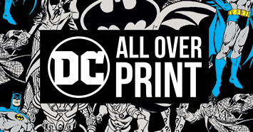 Browse DC Comics All Over Print Collection Designs