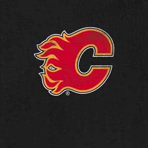 Calgary Flames Distressed