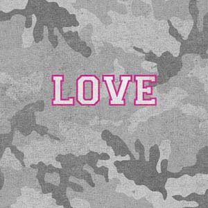 Grey Camo Love