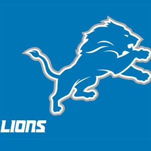 Detroit Lions Distressed