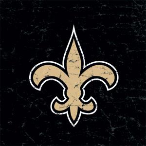 New Orleans Saints Distressed