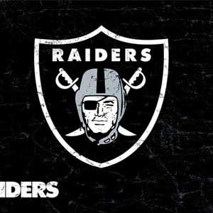 Oakland Raiders Distressed