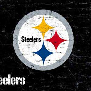 Pittsburgh Steelers Distressed