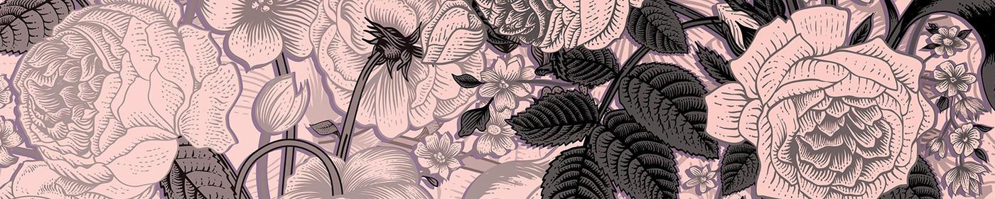 Floral Patterns Banner