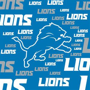 Detroit Lions - Blast Alternate