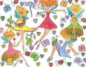 Frolicking Fairies