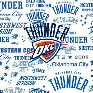 Oklahoma City Thunder Historic Blast