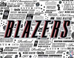Portland Trail Blazers Historic Blast
