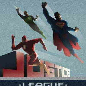 Justice League Blast Off