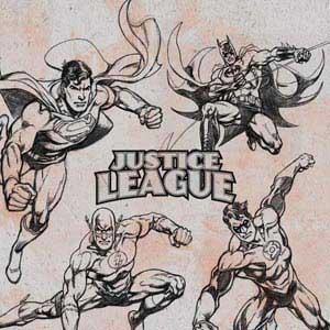 Justice League Sketch