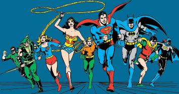Browse Justice League Designs
