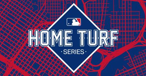Designs for MLB Home Turf Series