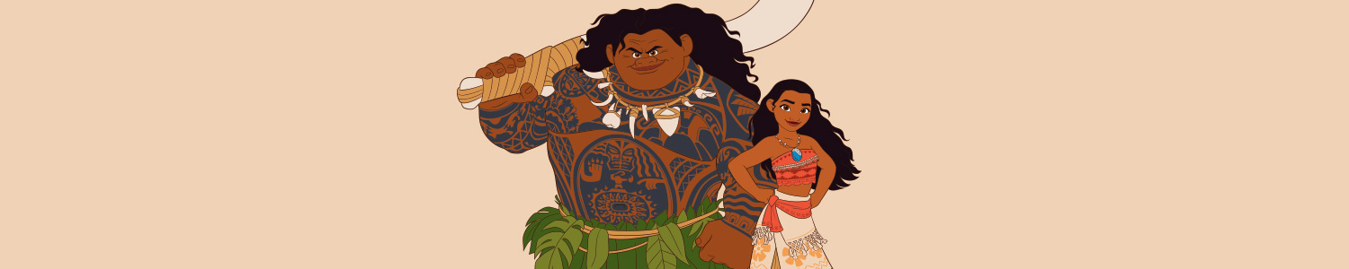 Designs for Moana
