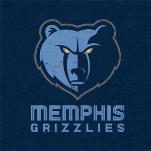 Memphis Grizzlies Distressed