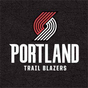 Portland Trailblazers Distressed