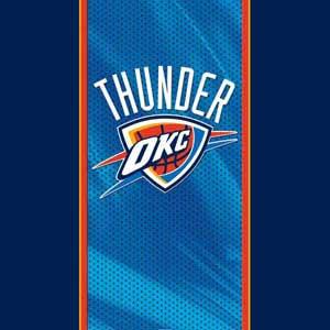 Oklahoma City Thunder Blue Jersey