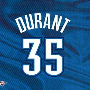 Kevin Durant Oklahoma City Thunder Jersey