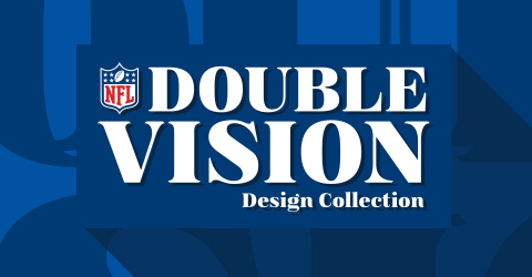 Designs for NFL Double Vision Collection
