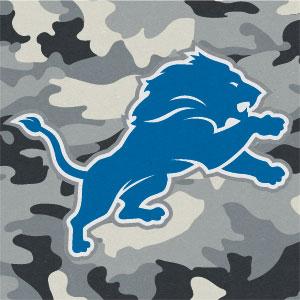 Detroit Lions Camo