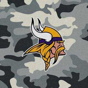 Minnesota Vikings Camo