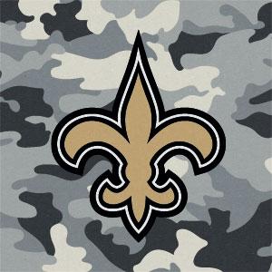 New Orleans Saints Camo