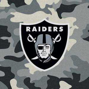 Oakland Raiders Camo