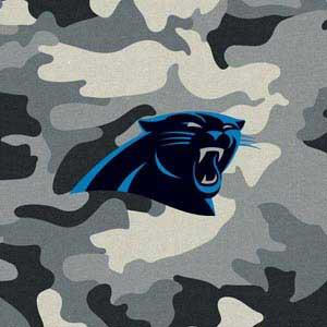 Carolina Panthers Camo