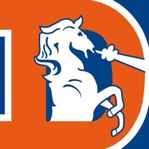 Denver Broncos Retro Logo