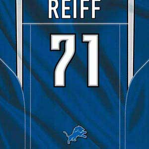 Riley Reiff Detroit Lions