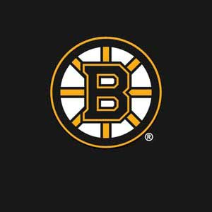 Boston Bruins Solid Background