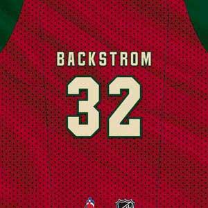 Minnesota Wild #32 Niklas Backstrom