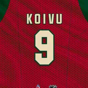 Minnesota Wild #9 Mikko Koivu