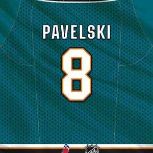 San Jose Sharks #8 Joe Pavelski