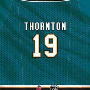 San Jose Sharks #19 Joe Thornton