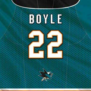 San Jose Sharks #22 Dan Boyle