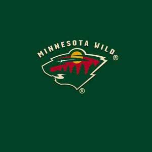 Minnesota Wild Solid Background