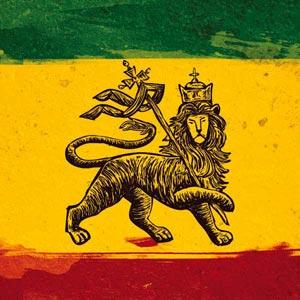 The Lion of Judah Rasta Flag