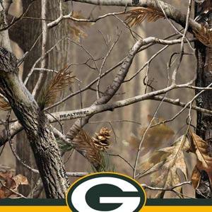 Realtree Camo Green Bay Packers