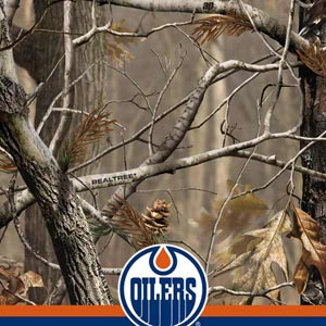 Realtree Camo Edmonton Oilers